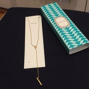 Stella and Dot Lariat Necklace